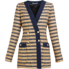 Alexandra Rich Striped Tweed - Куртки и пальто -
