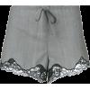 Alexander Wang lace trim shorts - Shorts -
