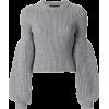 Alexander Wang puff sleeve knit jumper $ - Puloveri -