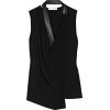 Alexander Wang top with leather detail - Tanks -