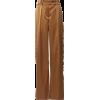 Alexandre Vauthier Wide-Leg Satin Pants - Capri & Cropped -