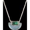 Alexis Bittar retro half moon necklace - Collares -