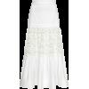 Alexis Gwenda Midi Tiered Eyelet Skirt - Skirts -