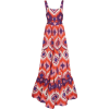 Alexis Jourdan Printed Crepe Maxi Dress - Obleke -