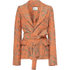 Alexis Malda Printed Cotton Blazer Color - Jacket - coats - $495.00