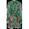 Alexis Tisdale Tie-Detailed Floral-Print - sukienki -