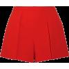 Alice+Olivia Larissa draped crepe shorts - Shorts -