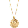 Alighieri Scorpio Gold Plated Necklace - Ogrlice -