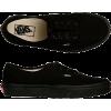 All Black Vans - Tenisice -
