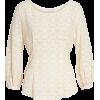Allover Lace Top - Camisas manga larga -