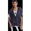 Calvin Klein Jeans Women's Petite Novelty Stitch Cocoon Cardigan - Vests - $89.50