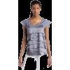 Calvin Klein Jeans Womens Ruffled Silk Top - Top - $59.50