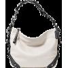 Coach Leather Carly Shoulder Hobo Bag Purse Tote 15251 White Grey - Bolsas - $259.99  ~ 223.30€