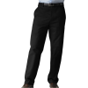Dockers Men's True Chino D4 Relaxed Fit Flat Front Pant Black - Hlače - duge - $24.99  ~ 21.46€