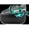 Dolce&Gabbana DG 4101 Sunglasses Styles - Animal Green Green Gradient Frame, DG4101-17548E-5419 - Sunglasses - $350.00