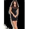 GUESS Jasalin Cap-Sleeve Dress Black - Dresses - $98.00