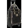 """GUESS Travel Satin Boudoir 20"""" 4 Wheel Spinner Black Multi - Travel bags - $179.99"""