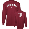 Indiana Hoosiers Red adidas Relentless Long Sleeve T-Shirt - Long sleeves t-shirts - $19.99  ~ £15.19