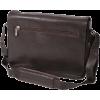 Kenneth Cole New York Leather Messenger Bag - Brown - Messenger bags - $200.00