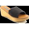 STEVE MADDEN Carmmel Sandals Slides Shoe Black Women SZ - Sandálias - $24.99  ~ 21.46€
