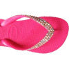 SWAROVSKI CRYSTAL HAVAIANAS HOT PINK/AB THONGS SANDALS FLIP FLOPS U.S. SIZES 4-10 - Thongs - $74.99