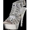 The Highest Heel Women's Gladiator Open Toe Platform - Platforms - $40.32