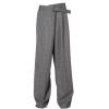 Ambush Overlap Gray Suit Pant  - Pants -
