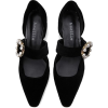 Amellie Velvet Pumps - Classic shoes & Pumps -