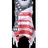 American Flag T-Shirt - Majice - kratke -