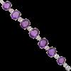 Amethyst Bracelet - Bracelets -