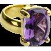 Amethyst Ring - Rings -