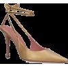 Amina Muaddi Crystal-Embellished Karma P - Klasyczne buty -