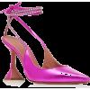 Amina Muaddi Karma Crystal-Embellished L - 经典鞋 -