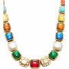 Amrapali Navaratna 18K Gold And Multi-St - ネックレス - $12.46  ~ ¥1,402
