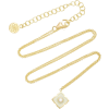 Amrapali Panashri 18K Gold And Diamond N - Necklaces -