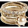 Anéis Ouro E Pérola - Prstenje -