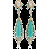 Anabela Chan Turquoise Tigerlilly Earrin - Uhani - $2.31  ~ 1.98€