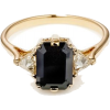 Anna Sheffield black diamond ring - Rings -