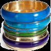 Antik Batik Bracelet Blue - Armbänder -