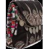 Antik Batik Saro Pouch in Black - Schnalltaschen -
