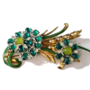 #Antique #ArtDeco #Glass #Brooch - Other jewelry - $299.00  ~ 256.81€