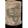 Antique French Felix Potin Confiture Pot - 室内 -