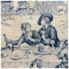 Antique French Toile de Jouy - Illustrations -