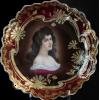 #Antique #Portrait #Plate #porcelain - Uncategorized - $149.00