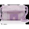 Antonello Suni Textured Woven Bag - Hand bag -