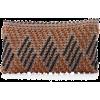 Antonello Woven Cotton-Canvas Pouch - Schnalltaschen -