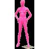 Pink mannequin - Figura -