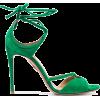 Aquazurra Nathalie 105 Heeled Sandals - Sandals -