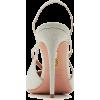Aquazzura Soul Glittered Leather Slingba - Classic shoes & Pumps - $725.00