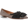 Aquazzura Versailles Bow-Detailed flats - Flats -